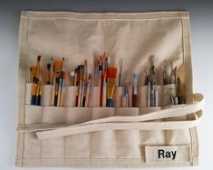 Ceramic Supplies Clay Tools Custom Pottery by Canvas Tool Bag, Paper Shaper, Ceramic Supplies, Crochet Tools, Paint Your Own Pottery, Pottery Tools, Clay Tools, Fabric Bags, Canvas Fabric