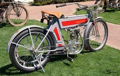 1909 Excelsior Auto Cycle Vintage Motorcycle