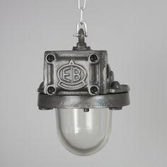 Czechoslovakian factory lights : Ceiling Lights : Skinflint Design