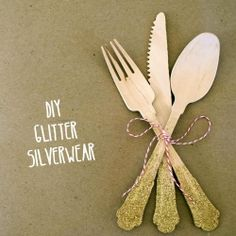 Customize disposable silverware for your next wedding or event!