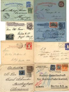 Chile, 1872 / 1920, lot with 95 postal stationeries, * / used,...