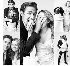 Jim and Pam!