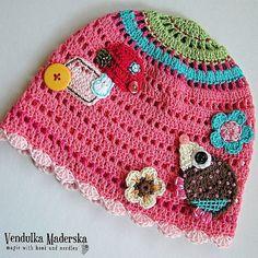 de5332ed126 Crochet hat pdf pattern by VendulkaM on Etsy Childrens Crochet Hats