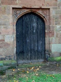 "The north aisle of St. Edburgh's (Old Yardley) Church, Yardley, Birmingham, features a 15th Century arched doorway, known as ""Katherine's Door"". The stonework of the lintel has carved into it a Tudor Rose and a Pomegranate in commemoration of the marriage of Katherine of Aragon and Prince Arthur."