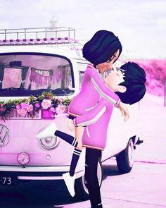 Romantic Couples, Cute Couples, Emoji Images, Cute Love Images, Cute Couple Art, Cute Love Cartoons, Couple Illustration, Anime Couples Manga, Couple Cartoon
