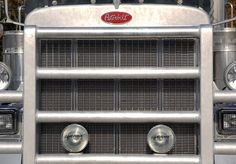 truck grill , pinned by Ton van der Veer
