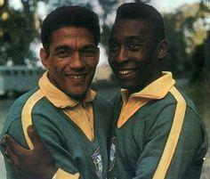 Seleção Brasileira jamais perdeu com Garrincha e Pelé