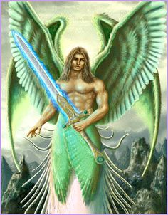 Lord Archangel Michael  Head of God's Angels. Head of God's Army. Mightiest warrior in The Great White Lodge. Supreme Angel of protection. Second to God in power and authority. The second most powerful being in this Universe! You may call upon Lord Archangel Michael for protection and He will surely do everything within His power, control, and jurisdiction to protect and defend you.