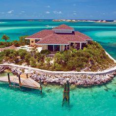 Islas Bahamas - Fowl Cay Bahamas Island love this! #JamaicaMiHappy @Jamaica Tourist Board
