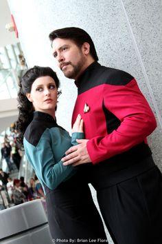 Star Trek TNG - Troi and Riker (WonderCon 2012) by BrianFloresPhoto.deviantart.com
