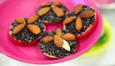 raw makove kolacky Fruit, Desserts, Food, Tailgate Desserts, Deserts, Essen, Postres, Meals, Dessert