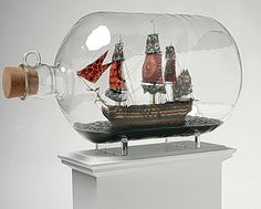 Who doesn't want a ship in a bottle?