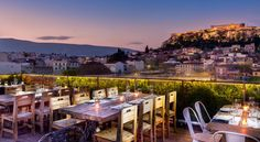 Hotels with view: 360 Degrees, Plaka Athens