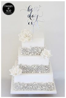 Kiwi Cakes: Greek Dragees make stunning statement on wedding cake