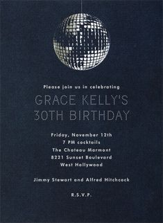 Disco by Paperless Post. Customize one of hundreds of online birthday party invitations. With RSVP tracking. View more designs on paperlesspost.com