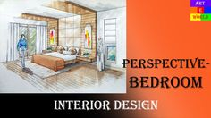 Manual Rendering | 2-point Interior Design Perspective Drawing & Renderi...