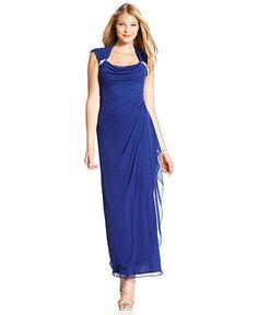 Xscape Dresses Blue