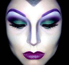 Evil queen- love the color scheme, eyebrows and contouring