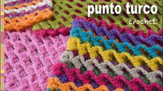Punto turco a crochet: ¡reversible, elástico, 3D y de una sola hilera! - Tejiendo Perú - YouTube