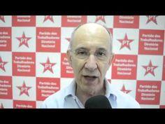 Rui Falcão, presidente nacional do PT, fala sobre ação da PF à casa de Lula