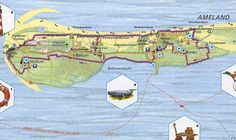 Ameland Fietsroute 41 km