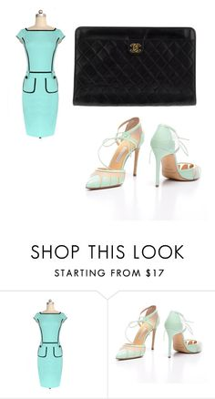 """""""Untitled #876"""" by ania18018970 ❤ liked on Polyvore featuring Chanel"""