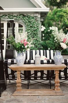 30 Chic Black And White Outdoor Spaces | DigsDigs