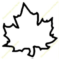 Clipart 10261 Maple Leaf - Maple Leaf mugs, t-shirts, picture mouse pads, & more