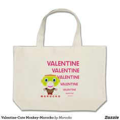 Shop Hello-Cute Monkey-Morocko Large Tote Bag created by Morocko. Hello Cute, Cute Monkey, Boss Baby, Marry Me, Blue Eyes, Totes, Reusable Tote Bags, Shop My, My Love