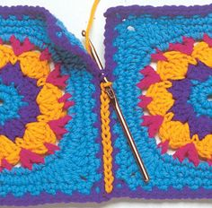 Methods for Joining Granny Squares