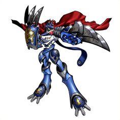 MirageGaogamon - Mega level Beast Knight digimon