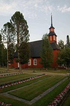 Old Lutheran Church in Keuruu, Finland