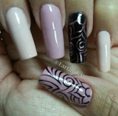 By @earthynails. Credits to Coralys Arismendi.  #nails #nailart #nailsdesing #acrylicnails #nailpolish #acrylicnails #esmalteparauñas #uñasdecoradas #nailartgallery #purplenails #lovenails