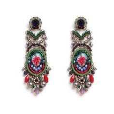 Raspberry Truffle earrings from Ayala Bar Jewelry