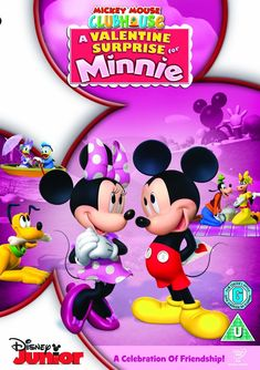 Valentines Movies, Valentines Surprise, Disney Valentines, Disney Mouse, Minnie Mouse, Max And Roxanne, Mickey Mouse Wallpaper, Disney Couples, Mickey Mouse Clubhouse