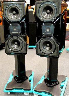 Wilson Audio Specialties CUB speakers.
