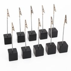 Amazon.com: NUOLUX 10pcs Memo Clip Holder Stand with Alligator Clasp for…