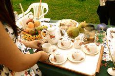 food/drinks- tea party