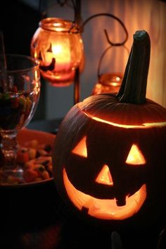 Halloween glow!