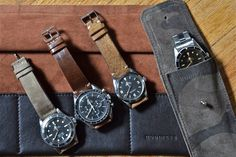 HODINKEE 2012 Leather Straps and Accessories.