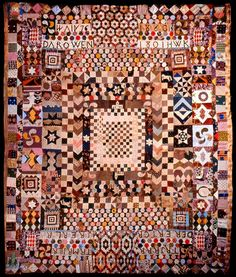 Little Welsh Quilts and other Traditions: Two Folk Quilts