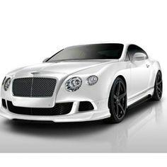 Gorgeous White Bentley