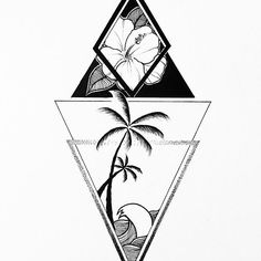 Commission from a while ago! Love this style, will do more of this stuff. #illustrator #illustration #design #sketch #draw #drawing #thedesigntip #ink #tattoo #tattoodesign #commission #blackwork #blackandwhite #blackworkers #linework #dotwork #geometry #art #artwork #artist #instaart #instaartist #nature #ocean #floral #botanical #evasvartur #palmtrees #tropical