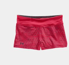 """Under Armour HeatGear® Sonic 2.5"""" Printed Shorty - hibiscus"""