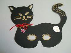Τα πρωτάκια 1: γάτα μάσκα