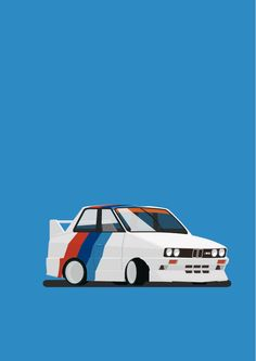 BMW M3 1st generation by HONGKOON ., via Behance