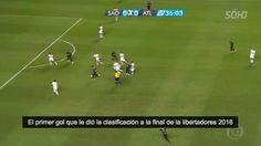 Primer gol del Atlético Nacional de Medellín frente al San Pablo por la Copa Libertadores 2016 #semifinal