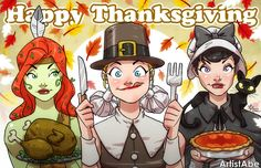 Pinup Arena • artistabe: Happy Thanksgiving 2014 by ArtistAbe ...