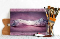 Still Life with driftwood on vintage purple background | Amazing artwork by VIAINA | Get your PRINT ON METAL of this artwork »»