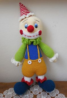 Clown häkeln